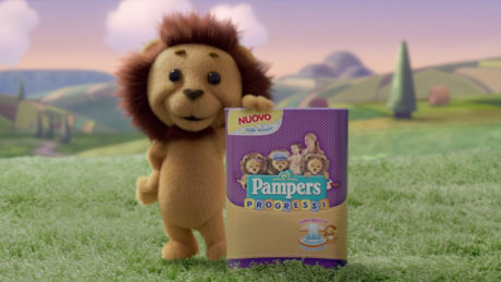 leoncino pampers